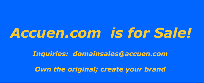 Accuen.com is for sale!